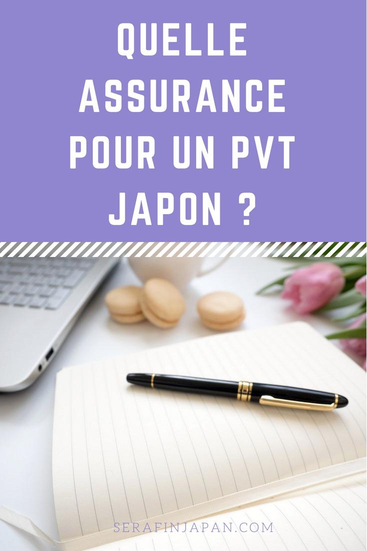 Quelle assurance pour un pvt japon