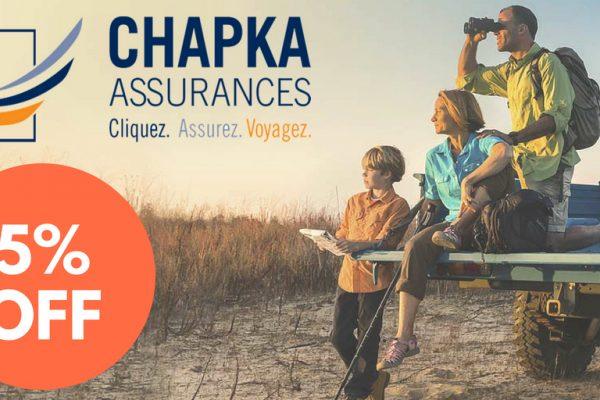 chapka assurance 5%