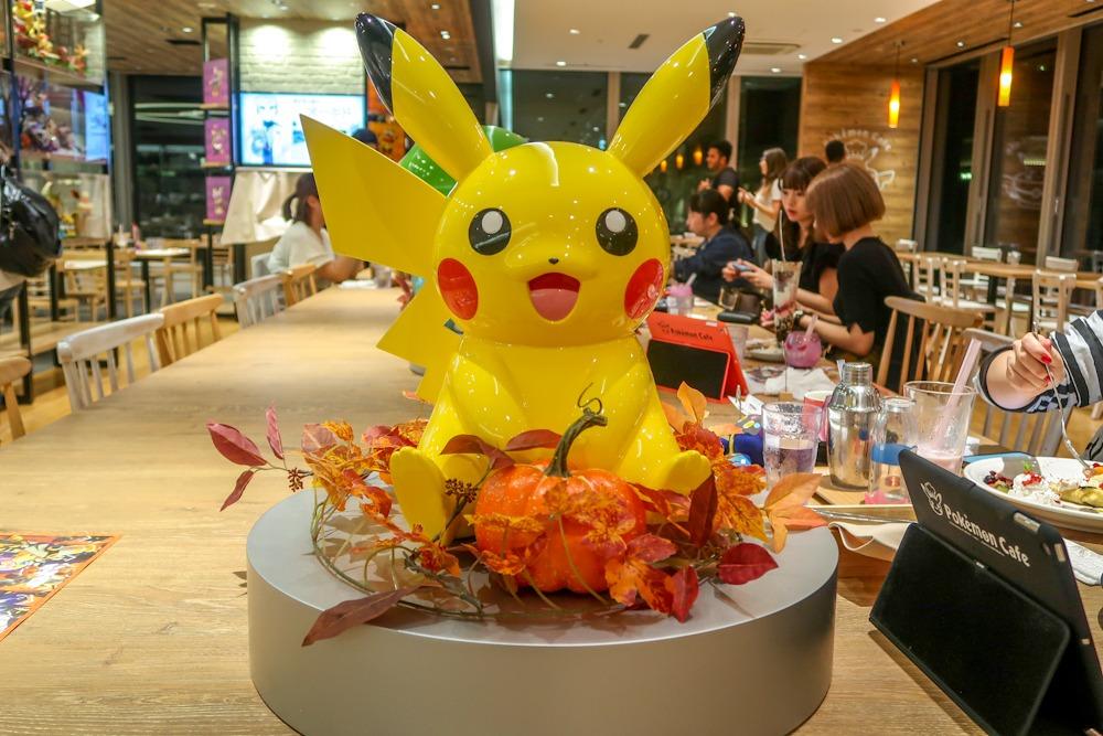 Manger au Pokémon Café à Tokyo